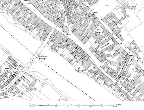 Strabane Street Map 1905