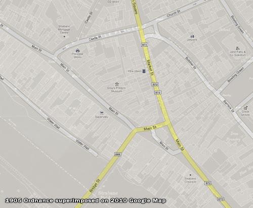 Strabane hybrid map 1905-2010