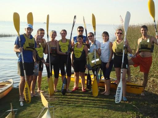 Entrenamiento Combinado - Run + MTB + Kayak Kayak