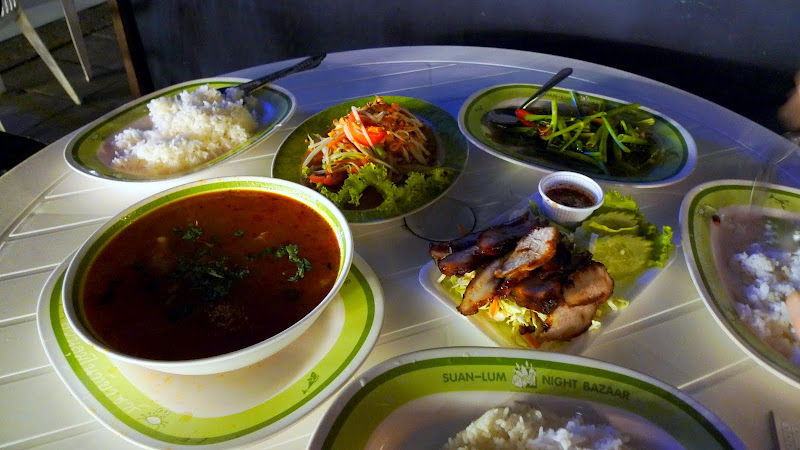 Bangkok Trip at Suan Lum Night Bazaar