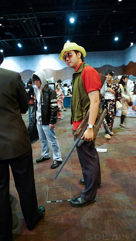 Comic Fiesta Day 1 cosplay sniper from Team Fortress 2
