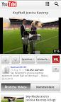 YouTube Mobile auf Deutsch
