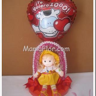 ¡Muñeca para regalar el Día de San Valentín, del amor y la amistad!