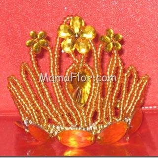 Bijoutería: Corona de Mostacillón