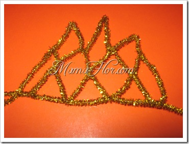 Accesorios: Corona de Chenille…