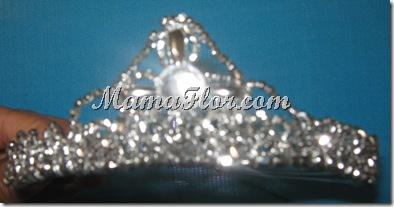 Corona Plateada Para Reynas I