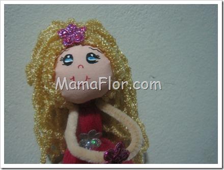 Como hacer una muñeca : Pasos para colocar el Pelo