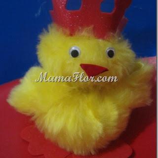 Peluches: Pollito Rey Cariñosito…