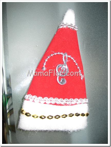 Navidad: Gorritos de Papá Noel Decorados (Modelo II)…
