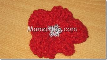 Crochet: Diseño de una Flor