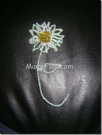 Como hacer una flor elegante con chenille