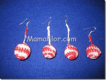 Aprende a hacer Aretes tejidos en Crochet, paso a paso!