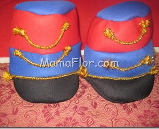 Disfraz para fiestas Patrias del Perú : Húsares de Junín.