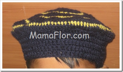 Crochet: Boina Tejida a Crochet