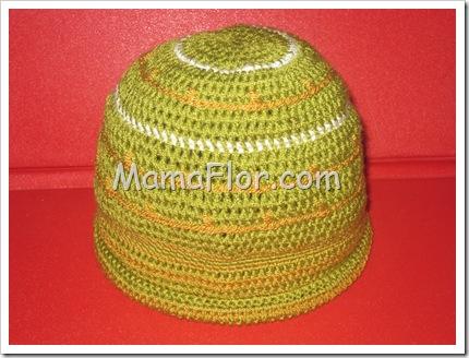 Gorro a Crochet Matizado para Niños