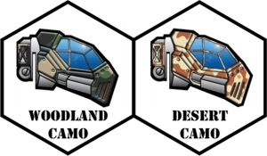 Woodland and Desert Camo