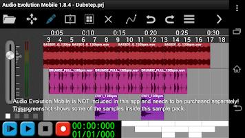 Screenshot of Monster Dubstep Vol 2 for AEM