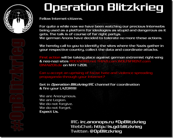 Operation Blitzkrieg