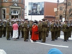 Signals Regiment inspection 2008