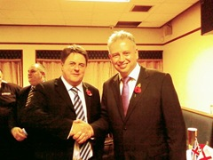 Nick griffin and Martyn Findley