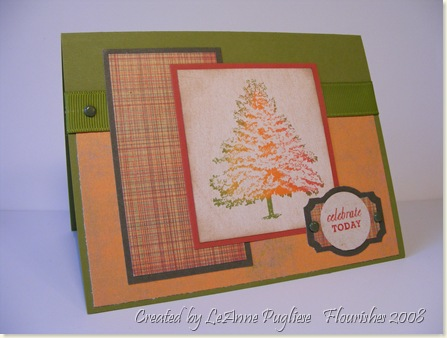 11-1-08  Fall Tree Card
