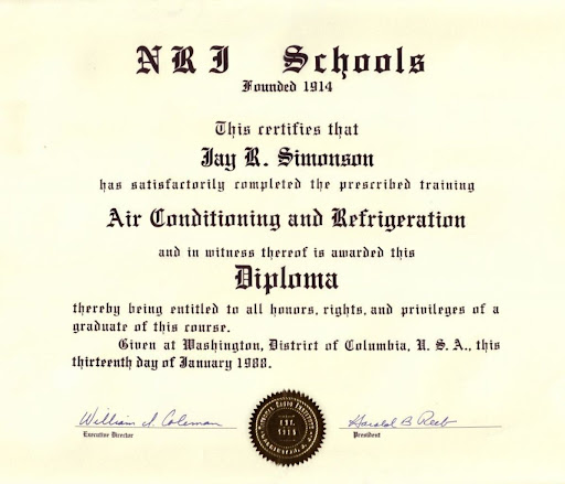 Heating and Air Conditioning (HVAC) college board ap subjects