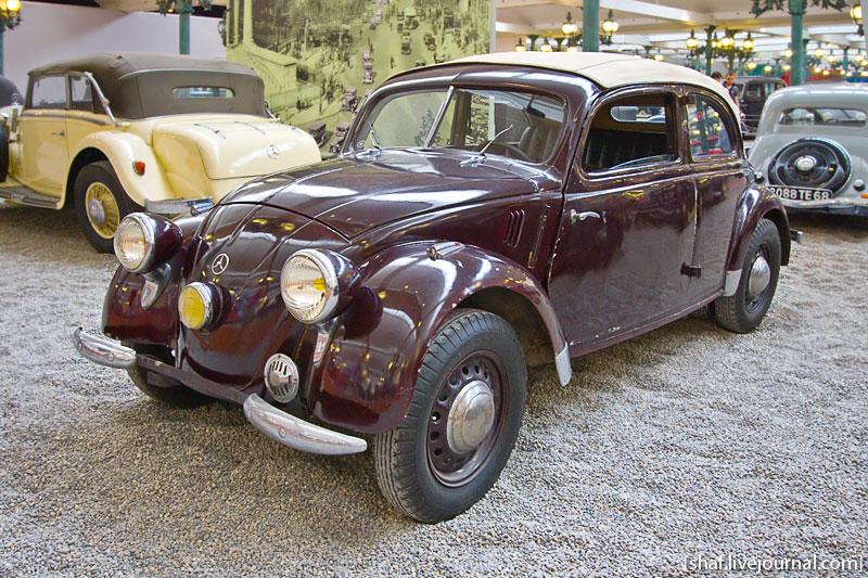 Автомузей; Национальный музей автомобилей, Мюлуз (Mulhouse), Франция; Daimler-Benz, Mercedes-Benz 170H, 1937