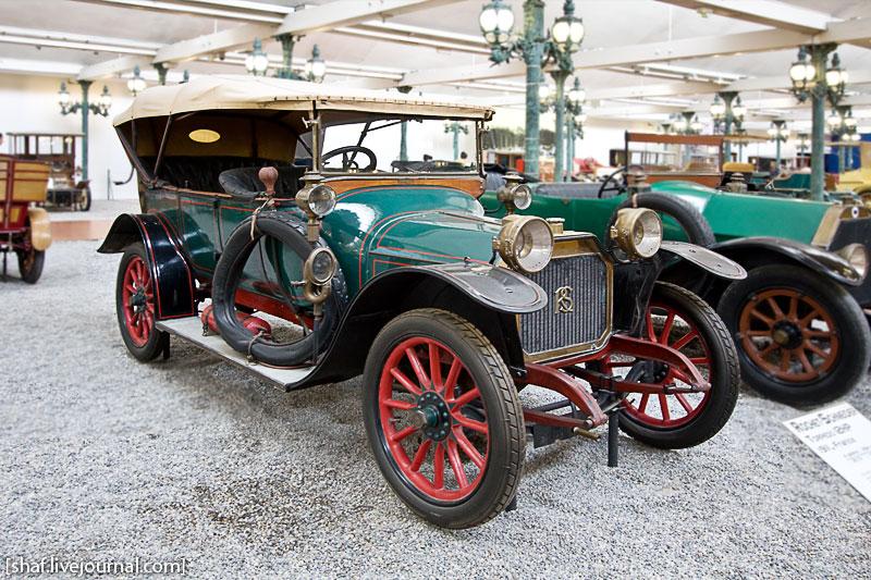 Автомузей; Национальный музей автомобилей, Мюлуз (Mulhouse), Франция; Rochet-Schneider, Torpedo 12HP, 1911