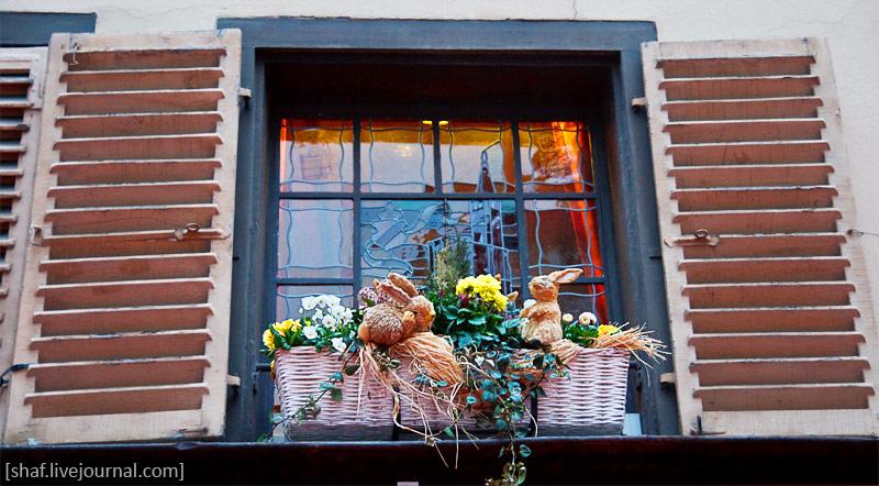 Франция, Страсбург, пасхальный заяц