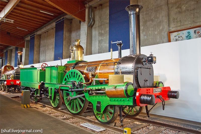 Франция, Мюлуз, Национальный железнодорожный музей, паровоз