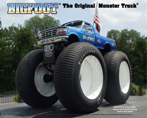Bigfoot 5 Monster Truck
