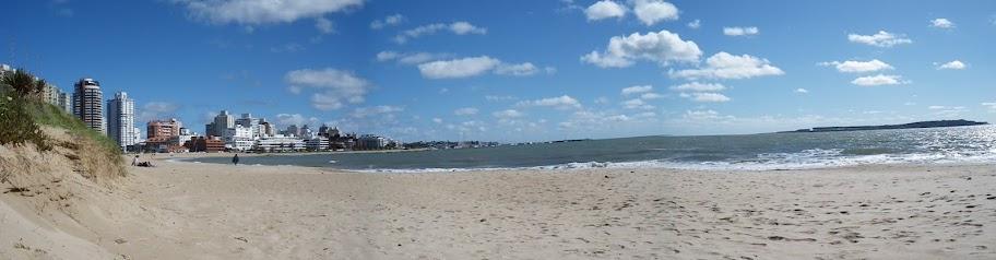 Panorámica de Playa Mansa