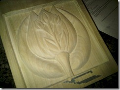 tulip carving 2