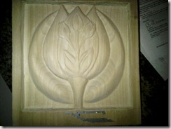 tulip carving 3