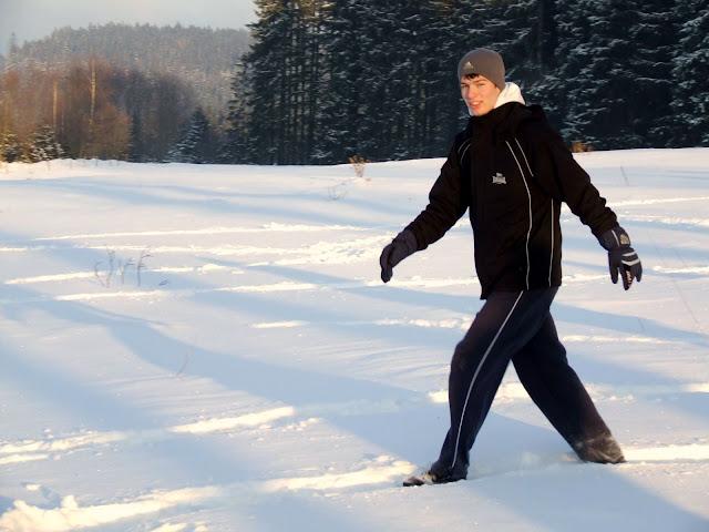 Martin Kabát na zimním pobytu mládeže EWC