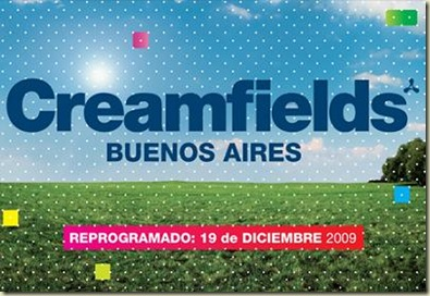 Creamfields Buenos Aires 2009