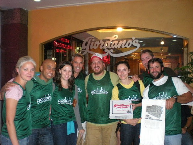 Part of Team Goslabi at Giordanos