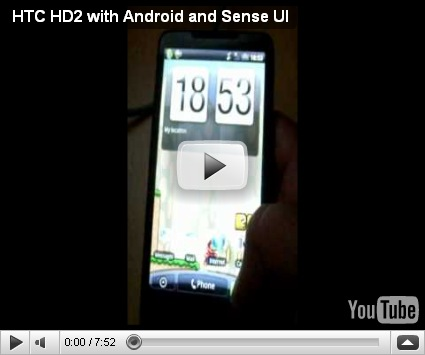 htc hd2 android  port