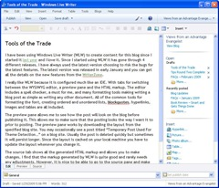 Windows Live Writer 2009