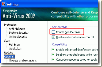 disable-kaspersky-self-defense