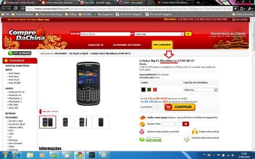Compre Da China falsificado produto