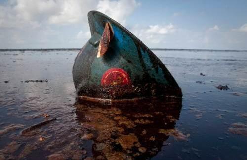 Imagens do terrível vazamento de óleo no Golfo do México