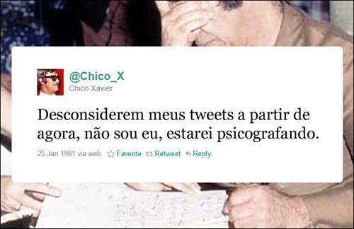 Chico Xavier - Coleção de tuitadas históricas