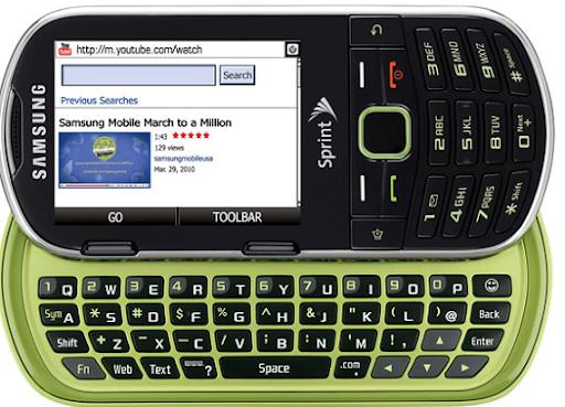Sprint Samsung Restore - ekološki mobilni telefon