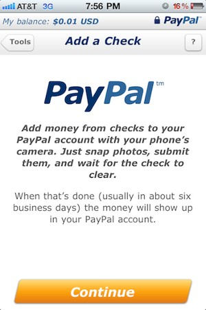 download PayPal aplikacija za iPhone, iPod Touch, iPad