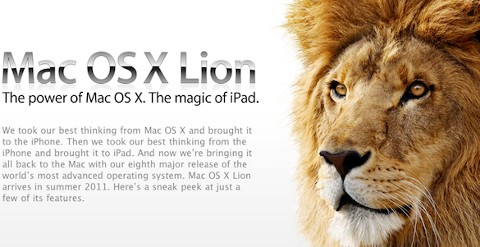 Apple Mac OS X 10.7 Lion i Mac App Store
