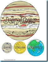 Solar System Planets Printables
