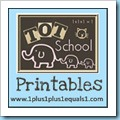Tot School Printables 100
