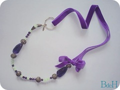 Collar Terc morado_bronc_crist facet verde