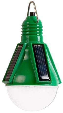 Nokero solar light bulb. engadget.com